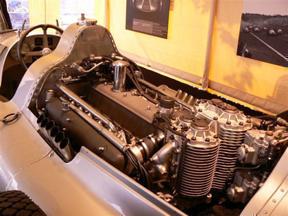 Auto Union D-TYPE de Hitler Engine