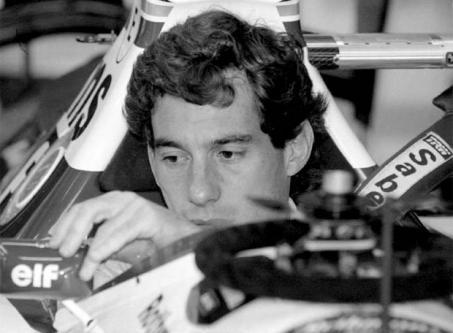 La muerte de Ayrton Senna